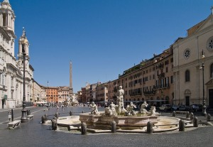 Translation Break - Piazza Navona, Rome