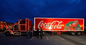 Speech Marks Translation - Christmas Coca Cola Lorry